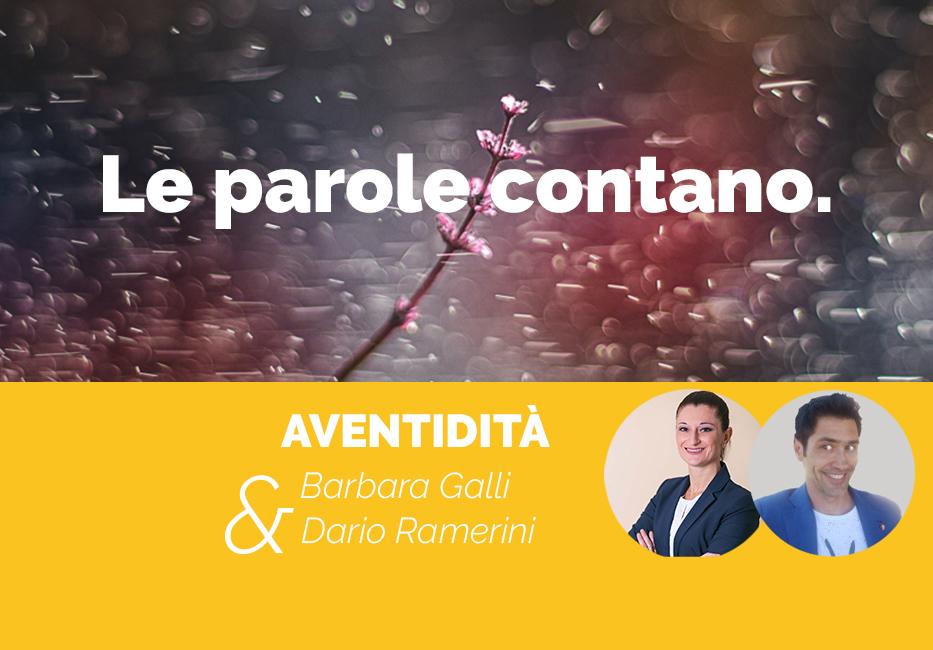 Anventidità le parole contano articolo di Barbara Galli e Dario Ramerini