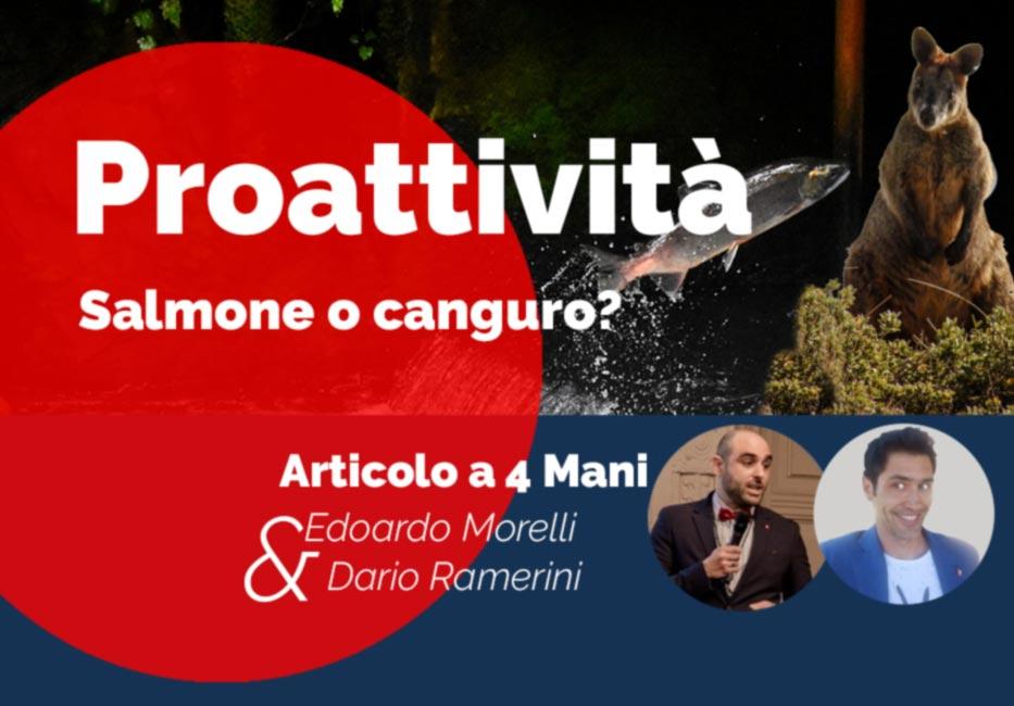 proattività Dario Ramerini & Edoardo Morelli