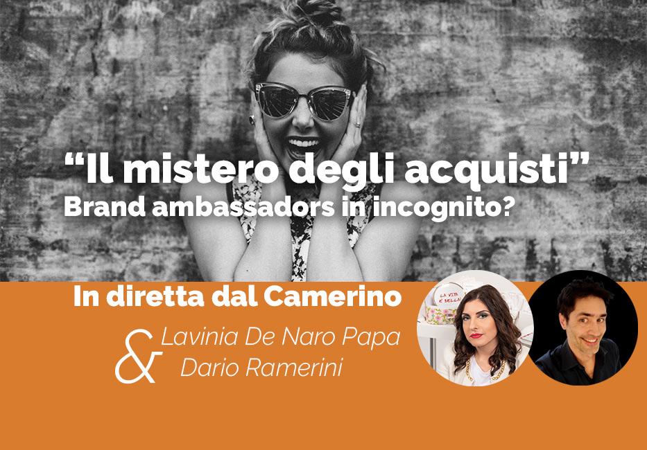 il mistero degli acquisti, articolo di Lavinia De Naro Papa e Dario Ramerini