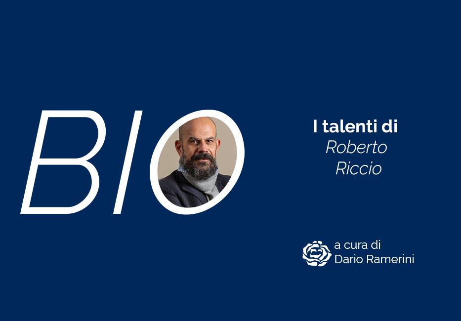 Roberto Riccio biografia dello Scrittore di Talenti Dario Ramerini